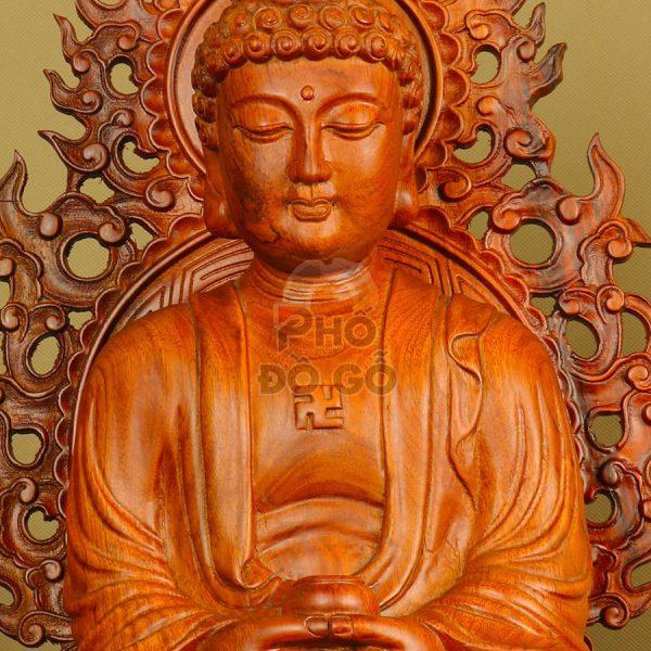 tuong go tam the phat cao cap bang go huong 01
