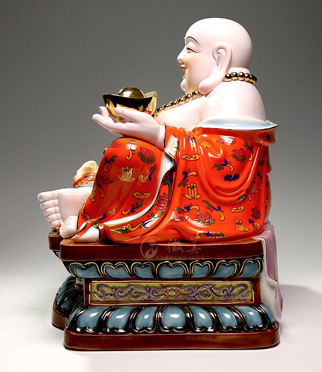 Tượng sứ Phật Di Lặc