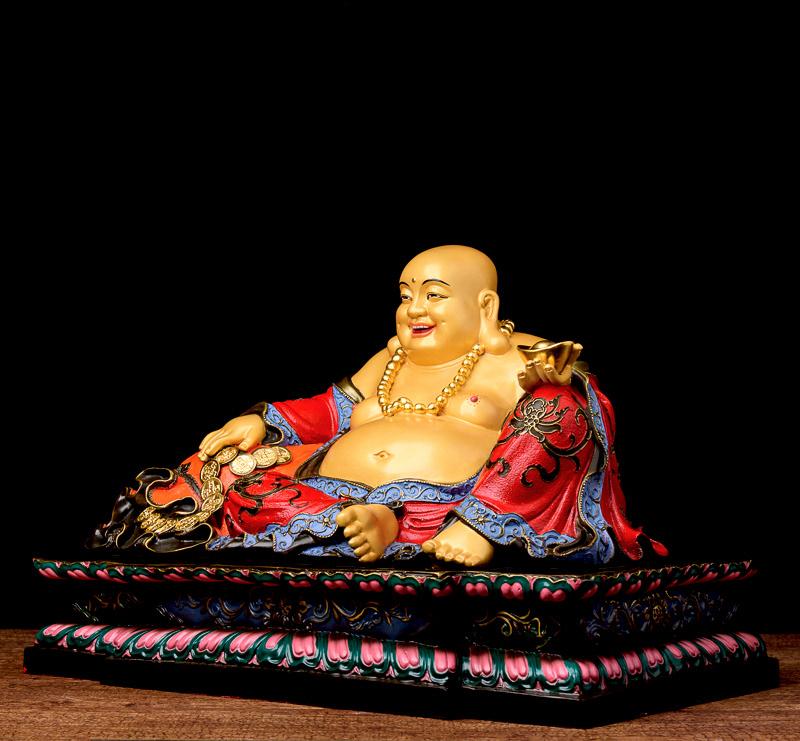 Tượng sứ Phật Di Lặc đẹp