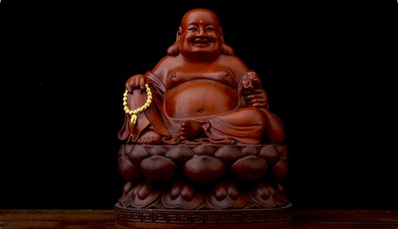 Tượng Phật Di Lặc thờ cúng